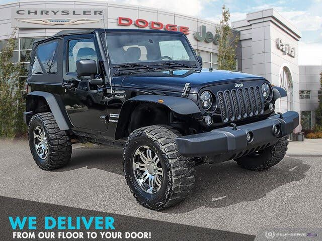 2014 Jeep Wrangler Sport S