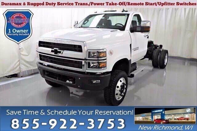 2019 Chevrolet Silverado 5500HD Work Truck Regular Cab RWD