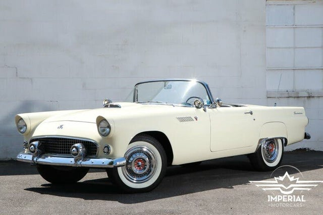 1955 Ford Thunderbird 2 Door Convertible RWD with Removable Hardtop