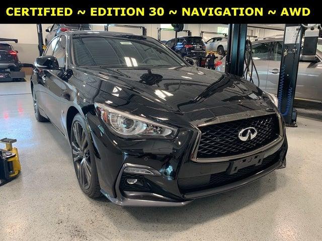 2020 INFINITI Q50 Edition 30 AWD