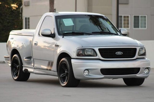 2001 Ford F-150 SVT Lightning 2 Dr Supercharged Standard Cab Stepside SB