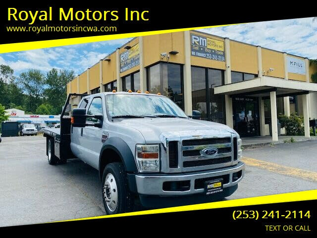 2009 Ford F-550 Super Duty Chassis SuperCab DRW 4WD
