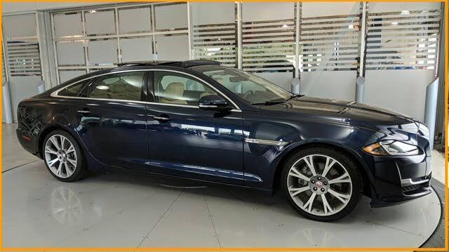 2018 Jaguar XJ-Series XJL Portfolio RWD