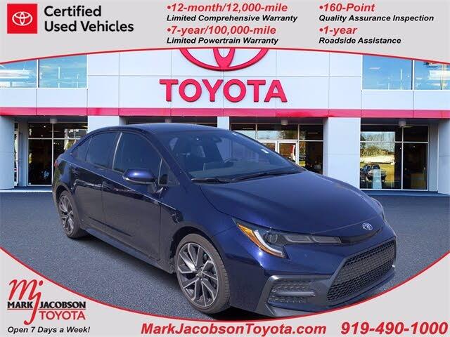 2021 Toyota Corolla SE FWD