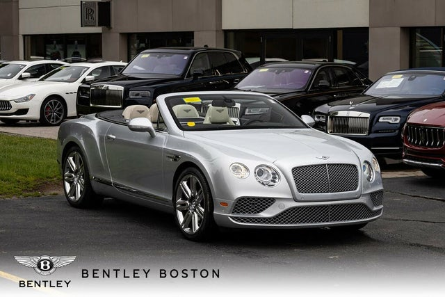 2016 Bentley Continental GTC W12 AWD