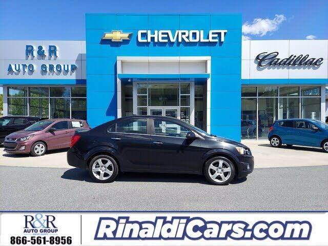 2013 Chevrolet Sonic LTZ Sedan FWD