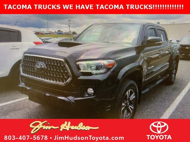 2018 Toyota Tacoma TRD Sport Double Cab RWD