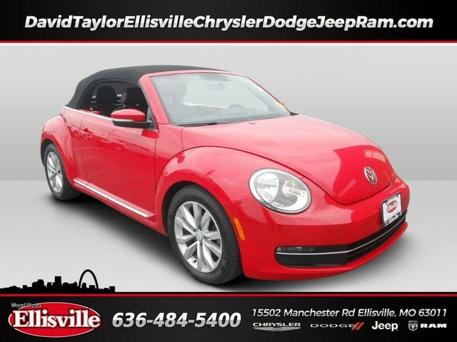 2013 Volkswagen Beetle TDI Convertible with Sound and Navigation