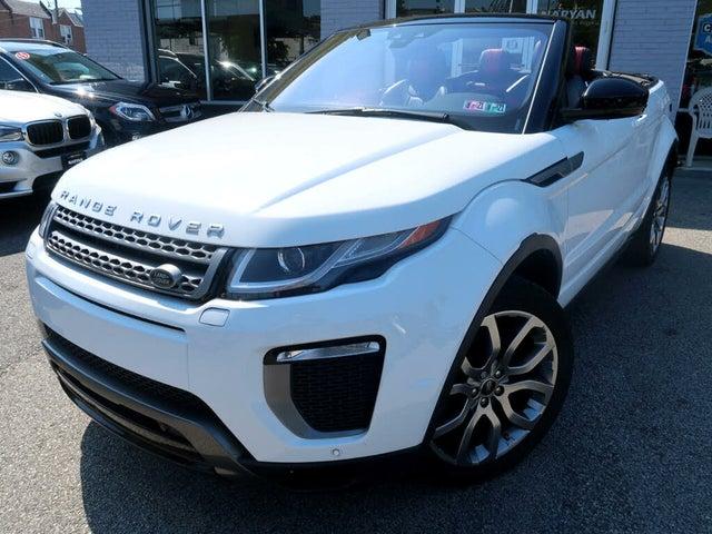 2017 Land Rover Range Rover Evoque SE Dynamic Convertible
