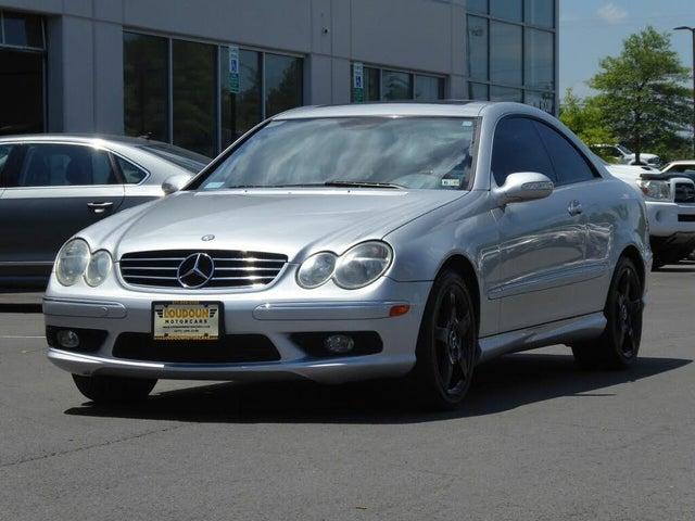 2005 Mercedes-Benz CLK-Class CLK 500 Coupe
