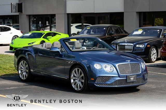 2017 Bentley Continental GTC V8 AWD