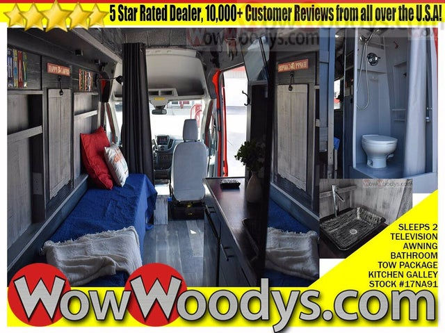 2017 Ford Transit Cargo 350 HD 3dr LWB High Roof DRW Extended Cargo Van with Sliding Passenger Side Door and 9950 Lb. GVWR