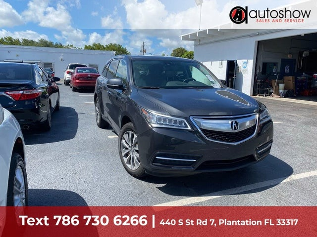 2015 Acura MDX SH-AWD with Technology Package