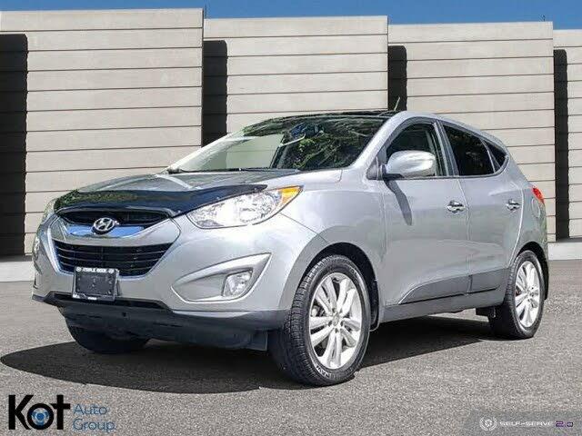 2011 Hyundai Tucson Limited AWD with Navigation