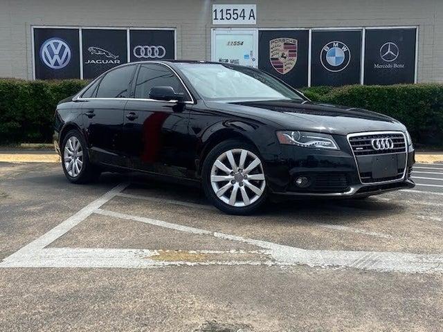 2010 Audi A4 2.0T quattro Premium Plus AWD