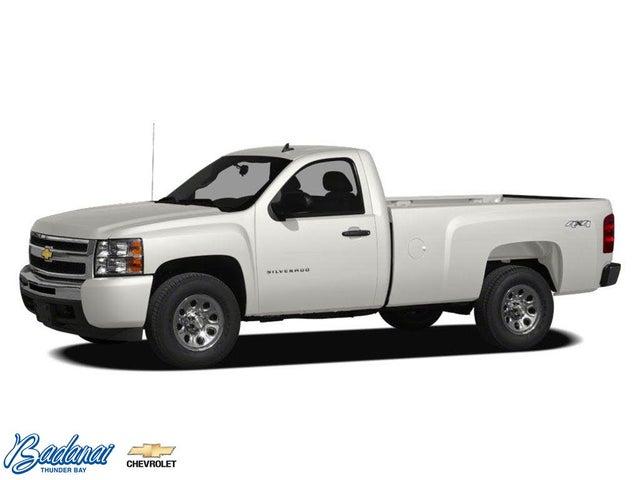 2011 Chevrolet Silverado 1500 Work Truck RWD