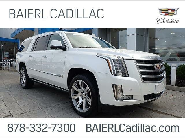 2017 Cadillac Escalade ESV Premium Luxury 4WD
