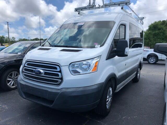 2016 Ford Transit Passenger 150 XL Medium Roof RWD with Sliding Passenger-Side Door