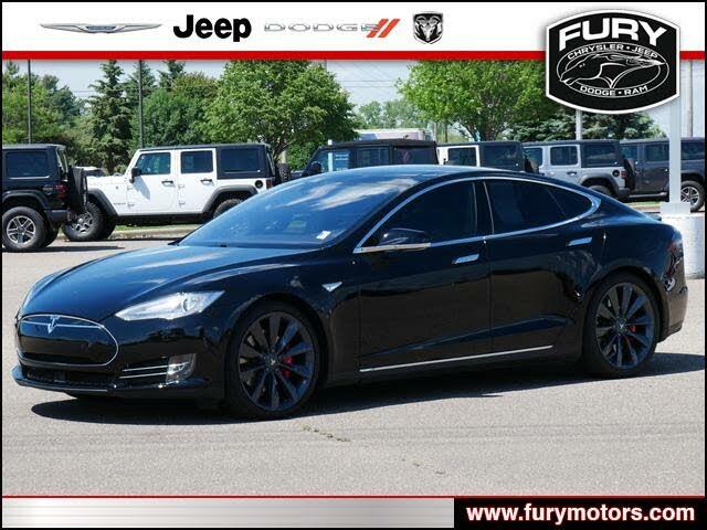 2014 Tesla Model S P85D AWD