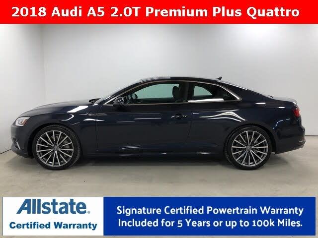 2018 Audi A5 2.0T quattro Premium Plus Coupe AWD