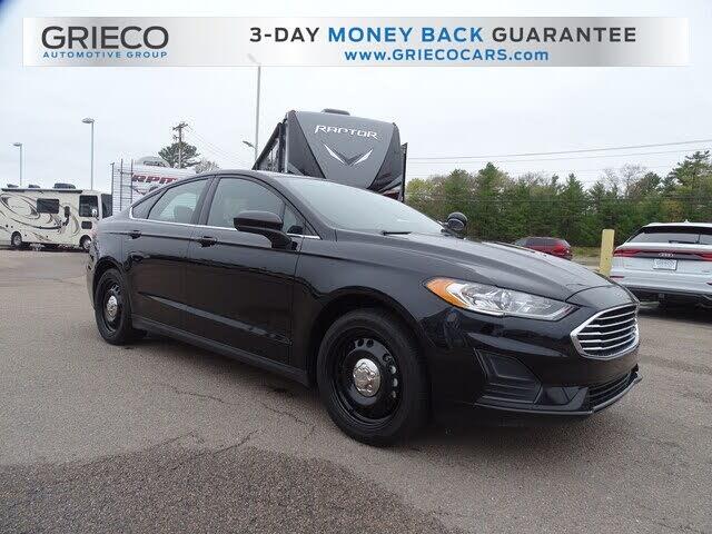 2019 Ford Fusion Hybrid Police Responder FWD