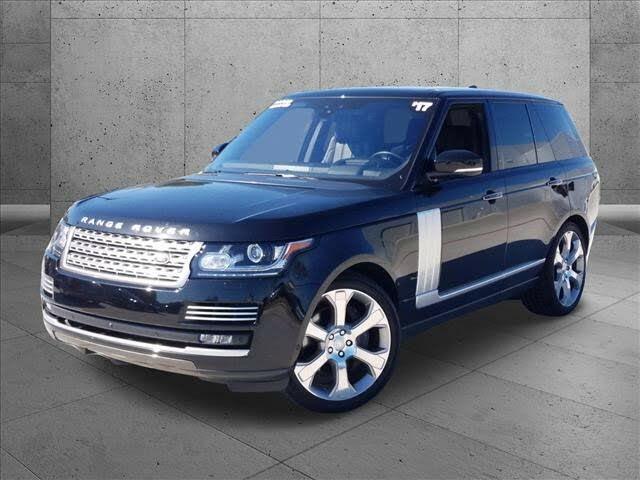 2017 Land Rover Range Rover V8 Autobiography 4WD