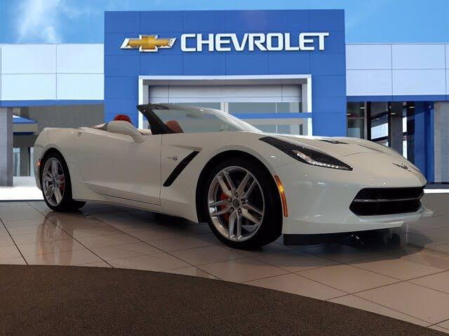 2019 Chevrolet Corvette Stingray 2LT Convertible RWD