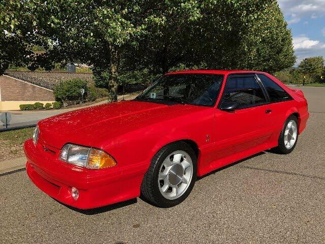 1993 Ford Mustang SVT Cobra Hatchback