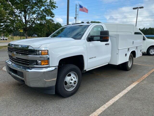 2017 Chevrolet Silverado 3500HD Work Truck Crew Cab 4WD