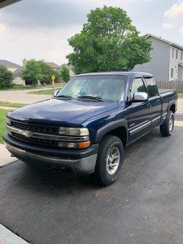 2002 Chevrolet Silverado 1500 LS Extended Cab 4WD