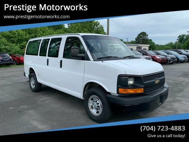 2015 Chevrolet Express Cargo 2500 RWD with Paratransit