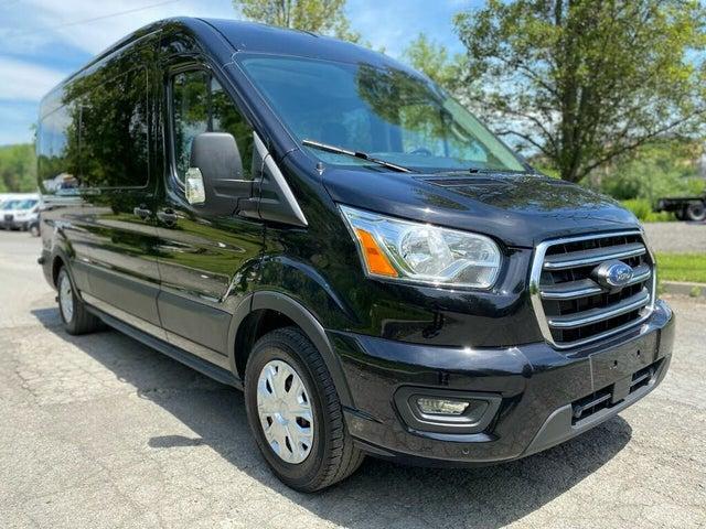 2020 Ford Transit Passenger 350 XLT LWB RWD with Sliding Passenger-Side Door