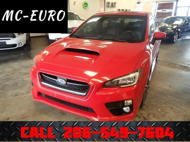 2016 Subaru WRX Limited AWD