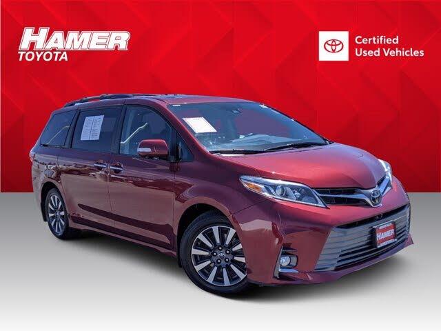 2018 Toyota Sienna Limited Premium 7-Passenger FWD
