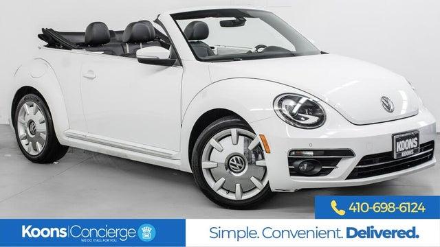 2019 Volkswagen Beetle 2.0T Final Edition SE Convertible FWD