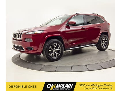 2016 Jeep Cherokee Overland 4WD