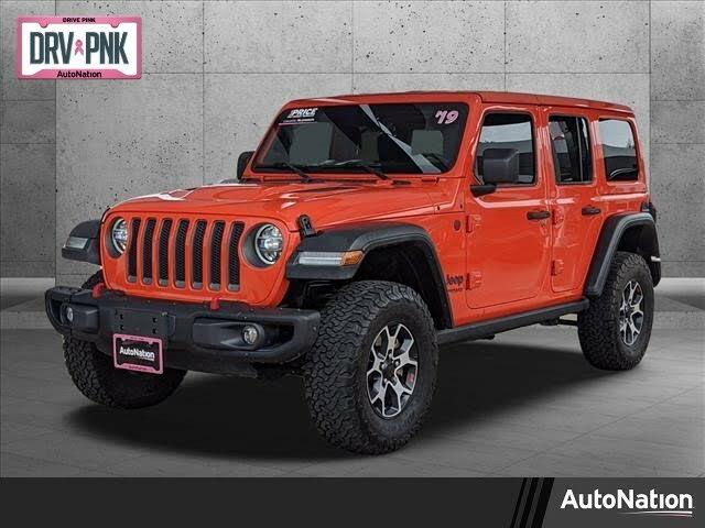 2019 Jeep Wrangler Unlimited Rubicon 4WD