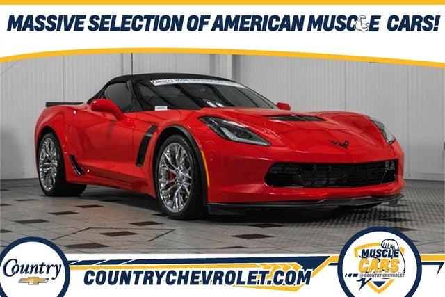 2016 Chevrolet Corvette Z06 1LZ Convertible RWD