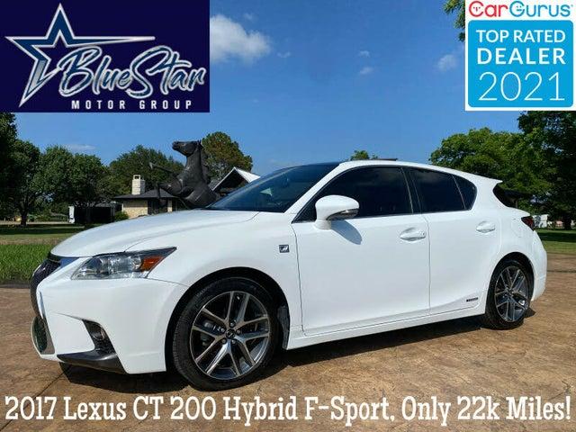 2017 Lexus CT Hybrid 200h FWD