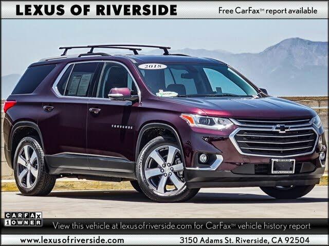 2018 Chevrolet Traverse LT Leather FWD