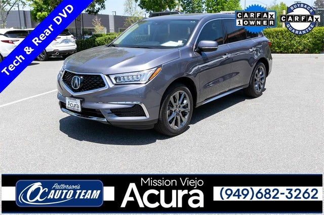 2019 Acura MDX FWD with Technology and Entertainment Package