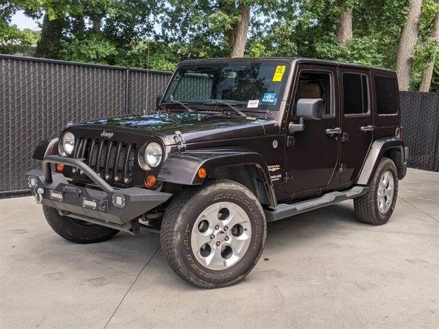2013 Jeep Wrangler Unlimited Sahara 4WD