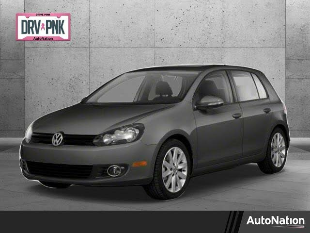 2014 Volkswagen Golf 2.5L PZEV FWD with Convenience and Sunroof