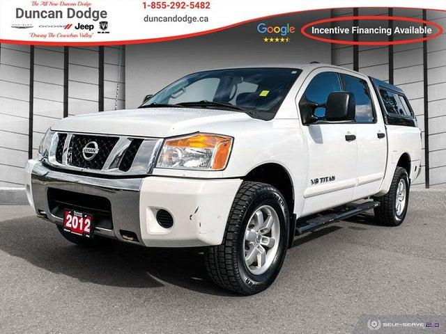 2012 Nissan Titan S Crew Cab 4WD