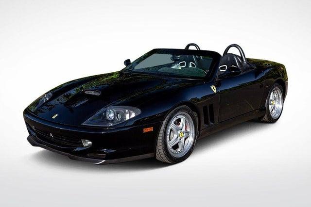 2001 Ferrari 550 Barchetta Pininfarina Roadster RWD