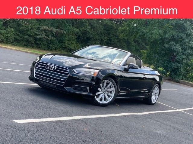 2018 Audi A5 2.0T quattro Premium Cabriolet AWD