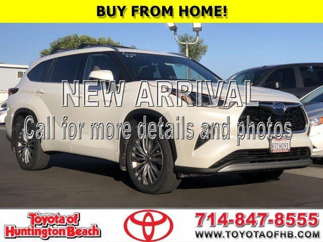 2020 Toyota Highlander Hybrid Platinum FWD