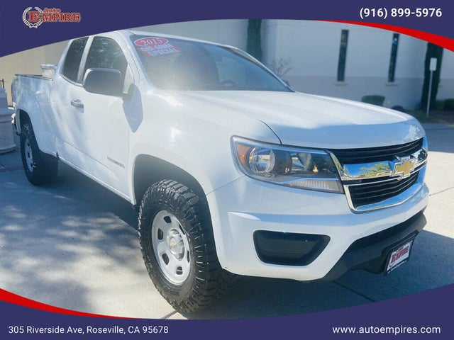 2015 Chevrolet Colorado Work Truck Extended Cab LB 4WD