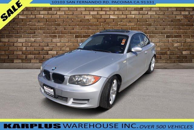 2008 BMW 1 Series 128i Coupe RWD