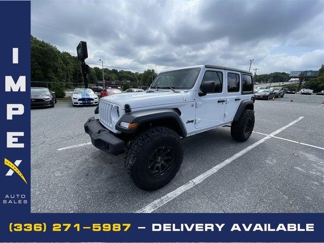 2020 Jeep Wrangler Unlimited Sport 4WD